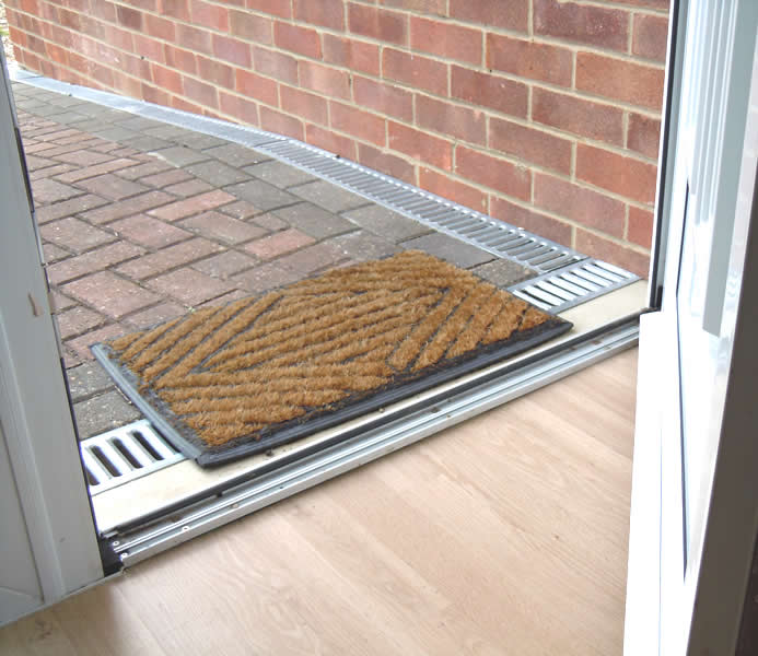 Wheelchair Access Front Door: Disabled Adaptations By Building Contractor Simon Bailey