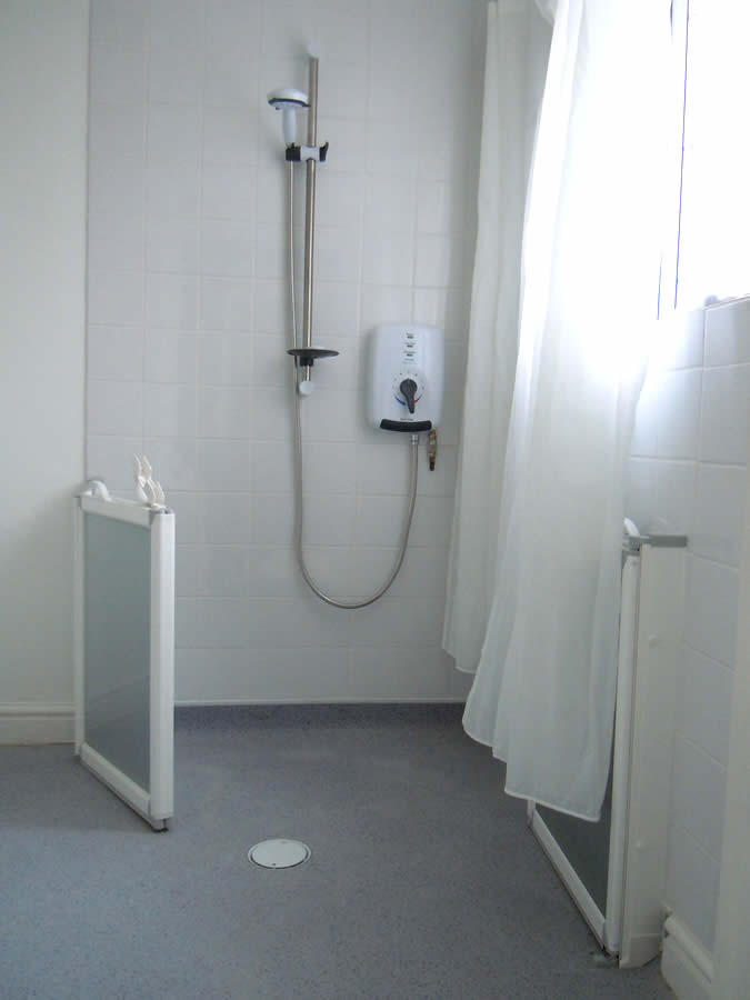 Disabled adaptations by building contractor simon bailey - Disabled shower room ...