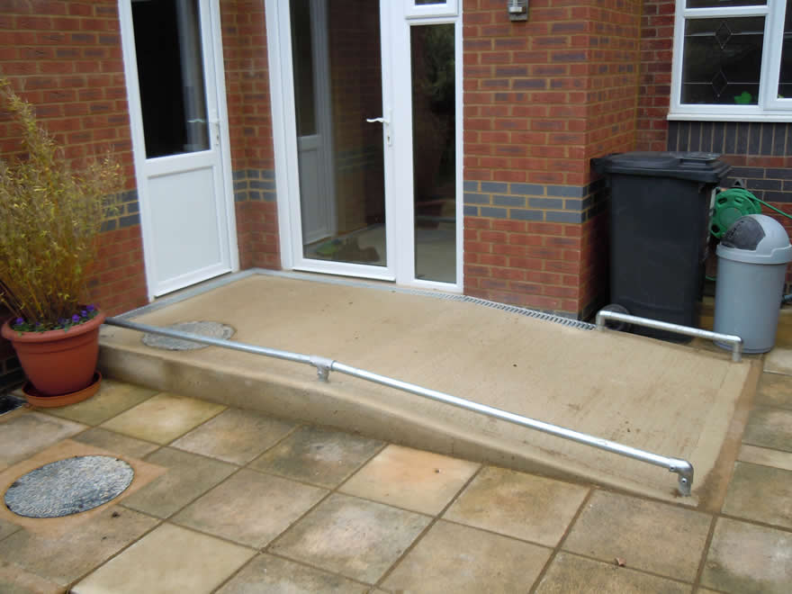 Disabled adaptations by building contractor simon bailey for Building a wheelchair accessible home
